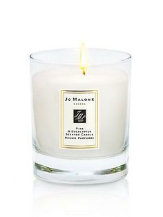 No better way to get your home ready for the holidays than the this pine & eucalyptus candle by jo malone london that @Jessica Comingore loves. So thrilled to work with her for our #PintoWin contest! Enter here: http://blog.saksfifthavenue.com/features/pinterestcontest21/
