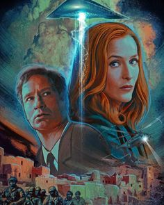 """1,429 Likes, 4 Comments - @all_things_xfiles on Instagram: """"I always love the artwork of the amazing Carlos Valenzuela:) #mulder #scully #xfiles #xfilesart…"""""""