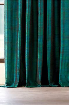 Harlequin iridescent curtains [detail]. Select Inspire, Colours, Teal : won't link directly.