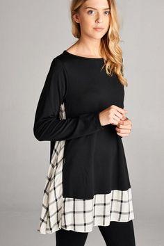 Effortless Chic Black Shirt