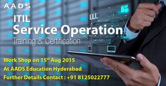 Become ITIL SO Professional. Batch Starting in August at Hyderabad. Accredited Training & Globally Accepted Certificate. ITIL SO Training and certification Examination, Project and Certification Program.