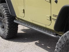 Jeep Wrangler JK 4 Door: Rock Sliders: Rocker Protection: Boatsides: TNT Customs. Just put these on the Jeep and I love them!