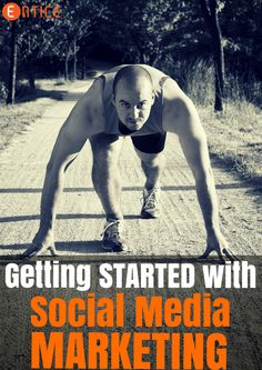 Getting started with Social Media can be a little bit scary. Sales And Marketing, Internet Marketing, Online Marketing, Social Media Marketing, Digital Marketing, Social Media Trends, Social Media Content, Calorie Diet, Blog Tips
