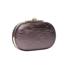 OOOK - Elie Saab - Accessories 2013 Pre-Fall - LOOK 16 | Lookovore ❤ liked on Polyvore featuring bags, handbags, clutches, elie saab, клатчи, purple purse and purple handbags