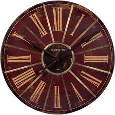 Uttermost 'Alexandre Martinot' 30-inch Round Wall Clock - Overstock Shopping - Great Deals on Uttermost Clocks