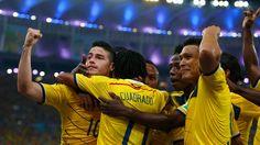 4tos de FINAL - BRASIL 2014 - James hace delirar a Colombia - Gana a Uruguay 2-0... http://www.1502983.talkfusion.com/es/products/