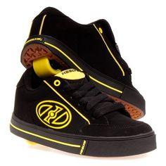 Heelys Wave Skate Shoe (Little Kid/Big Kid),Black/Yellow,3 M US Little Kid Heelys. $44.95. Save 25% Off!