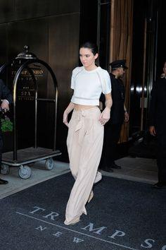 Kendall con pantalones palazzo - TELVA