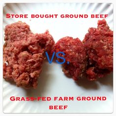 Nutritional Differences of Grass-fed Beef and Conventional Beef