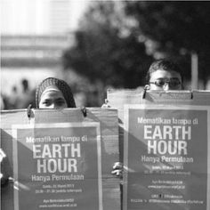 Image by @alvaclipton from #EarthHour #Indonesia. Just 5 days to go...