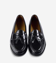 Cole Haan Pinch Tassel Loafer - Black 10 B Medium
