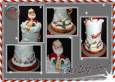Fondant Christmas Santa