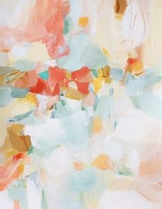 Christina Baker | A Touch of Blush | Abstract art / Colors | Pinterest