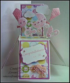Card in a box ~ Baby Girl