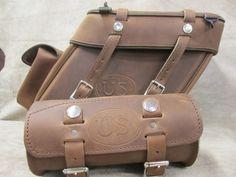 Leather Saddlebags | Motorcycle Saddlebags