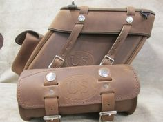 Leather Saddlebags | Motorcycle Saddlebags