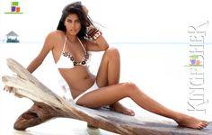 Swimsuit Model Ashika Pratt   Ashika Pratt   Esha Gupta Kingfisher Calendar 2010 Photo #406