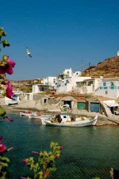 Kimolos, close to the island Milos in Greece / Kimolos, nära Milos i Grekland Vacation Destinations, Dream Vacations, Vacation Spots, Places To Travel, Places To See, Myconos, Places In Greece, Greek Isles, Greece Islands