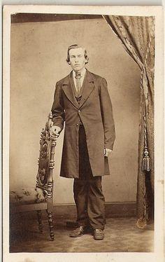 Civil War Era CDV Sharp Dressed Man Alliance Ohio E Crew Photography | eBay