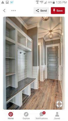Design Room, House Design, Interior Design, Interior Ideas, Laundry Room Doors, Laundry Room Organization, Closet Doors, Garage Closet, Entryway Closet