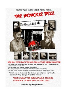 #MACCLESFIELD UNVEILED!: #The Monocle Deli goes to war!