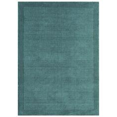 Asiatic Handgewebter Teppich York in Teal