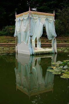 Like a fairytale . . . #bed #canopy #ethereal