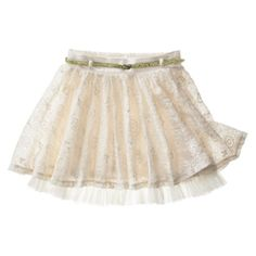 D -Signed Girls' Lace Skirt