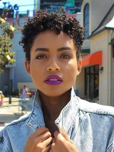 Sabs Source by How To Curl Short Hair, Short Curls, Short Curly Hair, Short Hair Cuts, Short Hair Styles, Big Chop Styles, Twa Hairstyles, Curled Hairstyles, Haircuts