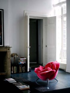 """This rather spectacular home in the heart of Paris was featured in the latest issue of Livingetc, and is owned by interior designer Josephine Gintzburger, her husband Emmanuel who works as a director for Yves Saint Laurent and their three boys Maximilian, Alexandre and Raphaël."""