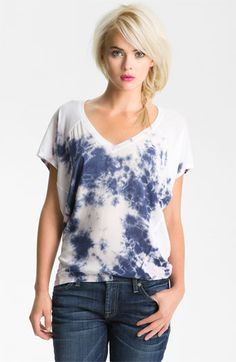Splendid 'Indigo Bomb' Tie Dye Tee available at Nordstrom