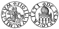 The Order, with about nine knights including Godfrey de Saint-Omer and André de Montbard, had few financial resources and relied on donations to survive. Their emblem was of two knights riding on a single horse, emphasising the Order's poverty.