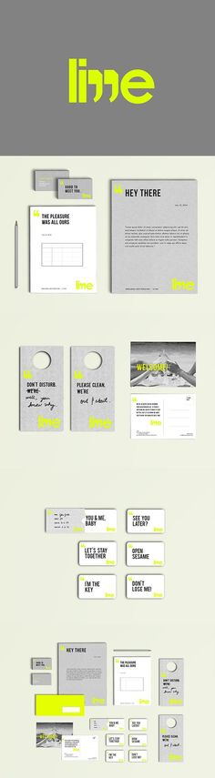 Lime Hostel Branding by Ryan Puno and Bea Sambalido | Fivestar Branding Agency – Design and Branding Agency & Curated Inspiration Gallery #branding #brand #brandidentity #identity #design #designinspiration