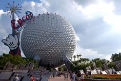 Classic view of Spaceship Earth during the Wand era