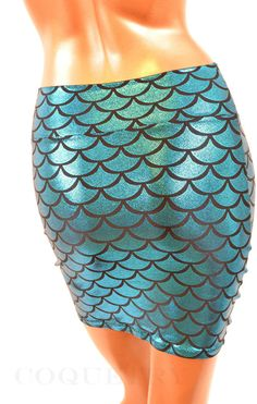 #Coquetry Clothing        #Skirt                    #Turquoise #Dragon #Scale #Bodycon #Skirt           Turquoise Dragon Scale Bodycon Skirt                                          http://www.seapai.com/product.aspx?PID=963380