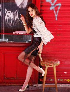 Eva González - Blog 'Las Tentaciones de Eva' 2012/2013 http://las-tentaciones-de-eva.blogs.elle.es/2013/08/09/asi-se-hizo-2o-parte/
