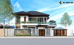 As I was browsing through other websites, I saw this beautiful two-storey house, a contemporary … House Plans 2 Storey, Double Storey House, 2 Storey House Design, House Plans One Story, Family House Plans, Online Architecture, Architecture Magazines, Amazing Architecture, Small Contemporary House Plans