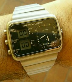 6369d35c8 Vintage Omega, Watch Room, Watches For Men, Wrist Watches, Seiko, Digital