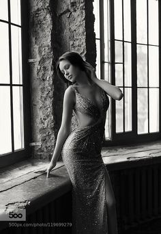 To bring you my love - Pinned by Mak Khalaf Moscow 2015 Anastasia Kostenko Miss World Russia 2014 Black and White  by Kazarina