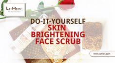 This looks great! DIY Skin Brightening Face Scrub #lamav #organic