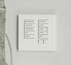 Lutron keypad - whole house lighting control and integration. Contact West London AV Solutions for free installation quotes. Drop Ceiling Lighting, House Lighting, Lighting Design, Light Switches And Sockets, Media Matters, Dropped Ceiling, Residential Lighting, Smart Home Technology, West London
