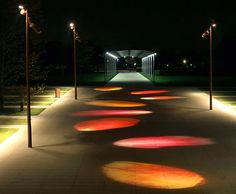 Pathway Lighting, Outdoor Lighting, Light Architecture, Landscape Architecture, Landscape Art, Light Luz, Blitz Design, Espace Design, Landscape Lighting Design