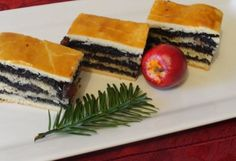Mákos bejgli szelet Holiday Dinner, Winter Holidays, Tiramisu, Cheesecake, Bread, Ethnic Recipes, Desserts, Autumn, Poppy