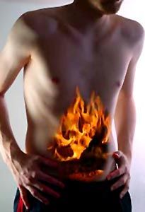 "Raw food isn't everthing- consider food combining or you'll get ""fire stomach!"""