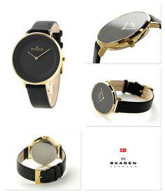 スカーゲンディッテクオーツレディース腕時計SKW2286SKAGENブラック