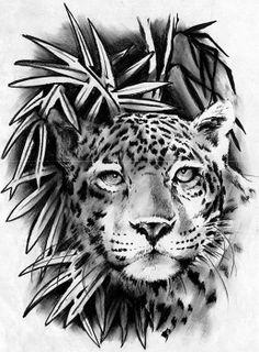 leopard tattoos | Home Leopard Tattoo Machine Liner