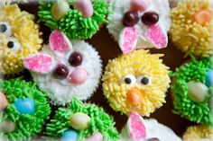 Easter cupcakes #Easter #EasterHam