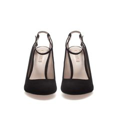 COURT SHOE WITH ANKLE STRAP - Shoes - Woman - ZARA Romania
