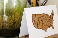 Northern California State Greeting Card // by IndieAndChic on Etsy