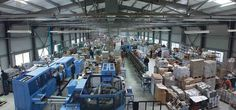 The production sector takes about 2500s.m. We have the special knowledge of bookbinding and the most modern equipment!